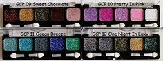 GLITTER CREAM PALETTE    Paleta com 5 combinações de cores de glitter em gel por R$39,00    Faça logo a sua encomenda através do e-mail lojakaelle@gmail.com