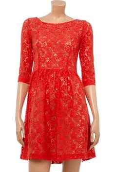 Helene Berman Lace Mini Dress.