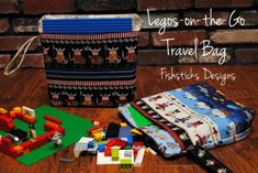 Activities for the Car ~ Lego Travel Bag Tutorial - Todays Creative Blog