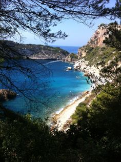See 55 photos and 6 tips from 167 visitors to Cala Ambolo. Ibiza Beach, Playa Beach, Alicante, Valencia Beach, Javea Spain, Beautiful Beaches, Four Square, Earth, World