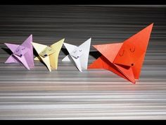 """Лиса из бумаги Оригами. Как сделать из бумаги лисичку Предлагаем вашему вниманию видео как сделать из бумаги оригами """"лиса"""" Оригами лиса - это одно из наибол..."""