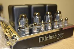 McIntosh MC275 VI, picked up 2 of these this week. Now to find a matching preamp.