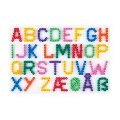 hama alphabet