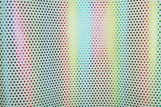 "Leather 12""x12"" METALLIC Rainbow OF COLOR Polka Dots on White Cowhide 3 oz / 1.2 mm PeggySueAlso? Trial E3455-02"