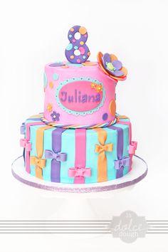 Girls Birthday Cake - La Dolce Dough, Sylvania Ohio