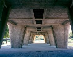 Le Corbusier's first Unité d'Habitation is arguably the most influential Brutalist building of all time.