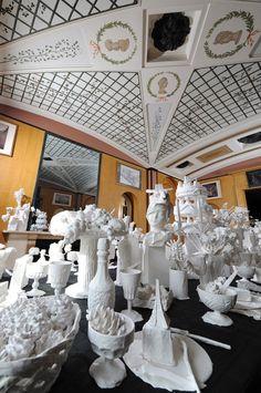 ARTE, e suas curiosidades!  Kathy Dalwood e suas lindas esculturas.