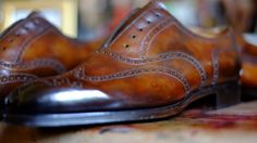 """""""For Her Majesty's Secret Service - Edward Green Edition""""      New Patina by Alexander Nurulaeff - Dandy Shoe Care       To highlight all the hidden beauty of these shoes by Edward Green      Alexander Nurulaeff plus Edward Green - an invincible force!"""