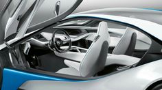 Interier of BMW i8
