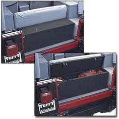 Tuffy Security Storage Trunk in Black for 76-95 Jeep® CJ & Wrangler YJ