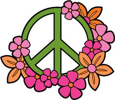 free clip art of a rainbow peace sign with hearts stars and rh pinterest com peach clip art images peace clipart free