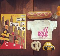 Gifts for the NYC baby! #estella #nyc #gifts #baby #set @dear.audreyandadam