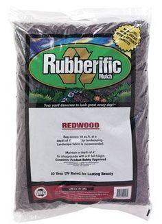 Is rubber mulch safe for plants? Read this article for the pros and cons of using rubber mulch and whether you should use it or not in your garden. Landscape Fabric, Garden Landscape Design, Rubber Mulch, Flowering Vines, Outdoor Landscaping, Landscaping Ideas, Garden Soil, E 10, Consumer Products