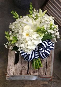 Bells of Ireland incorporated into bouquet for Nautical Wedding Nautical Wedding Theme, Wedding Themes, Floral Wedding, Wedding Decorations, Themed Weddings, Wedding Ideas, Wedding Table, Cruise Weddings, Diy Wedding