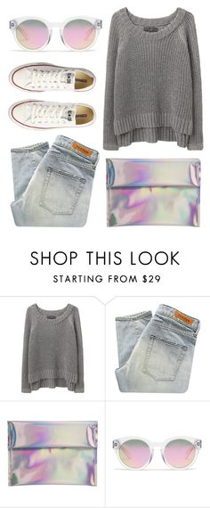 """""""Jessika"""" by aztec-rose ❤ liked on Polyvore featuring rag & bone/JEAN, Denham, Madewell and Converse"""