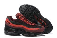 0c08956d1e Purchase Nike Air Max 95 Essential 20 Anniversary 749766 600 Bright Crimson  Black For Sale