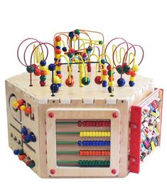Terrific 23 Best Bead Maze Images Baby Toys Woodworking Toys Baby Games Wiring Cloud Peadfoxcilixyz
