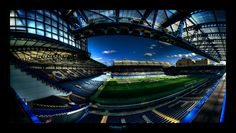 Stamford Bridge home of Chelsea fc the only place to be every other Saturday :}