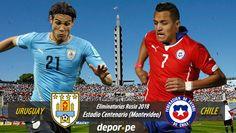 Los combinados de Uruguay y Chile jugarán este martes a partir de las 6:00pm hora peruana (Movistar TV 714) en el marco de la jornada 4 de las Eliminatorias Rusia 2018 en Conmebol. Este emocionante cotejo se llevará a cabo en el Estadio Centenario de Montevideo. Nov 15, 2015.