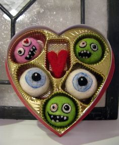 Wish I had saved a valentine heart box.....