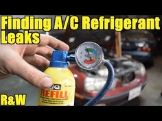 How to Find Small and Large A/C Leaks - Cheap and Easy - YouTube