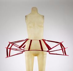 Panniers  Date: late 18th century Culture: French Medium: silk, cane, metal