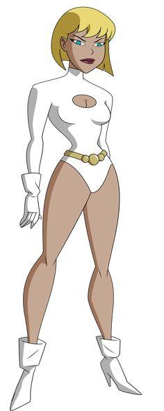 Galatea from Justice League Unlimited by Alexbadass.deviantart.com on @DeviantArt