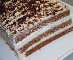 A kávé és a mascarpone kellemes egyvelegéből csodás, krémes sütemény születhet.A kakaós piskótát remekül kiegészíti a mascarpones-kávés krém. Igazi...