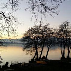 Lago di Monate, oggi. Uno diei miei #luoghidelcuore