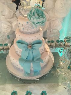 Tiffany Quinceañera Party Ideas | Photo 1 of 24