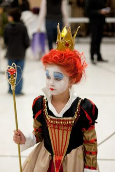 Disfraces infantiles de Tim Burton - Edward Scissorhands o la Reina Roja - por encargo