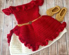 Crochet Princess, Baby Girl Crochet, Crochet Baby Clothes, Crochet For Kids, Newborn Crochet, Crochet Costumes, Baby Costumes, Crochet Hats, Crochet Photo Props
