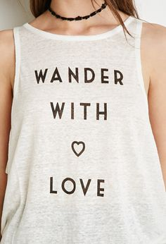 Wander With Love Tank | Forever 21 - 2000077095