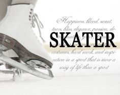 For the Love of Figure Skating: Photo Ice Skating Quotes, Figure Skating Quotes, Synchronized Skating, Skating Pictures, Skate 3, Photo Print, Ice Skaters, Ice Dance, Skating Dresses