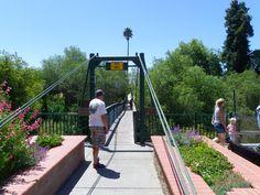 Swinging Bridge in Arroyo Grande Ca.