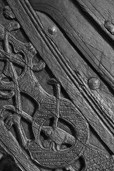 Oseberg Ship detail