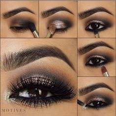 Smokey eye with a hint of shimmer mua: hello fritzie