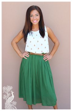 Ruffled Feathers Boutique - Dream A Little Dream Skirt, $41.99 (http://www.ruffledfeathersboutique.com/dream-a-little-dream-skirt/)
