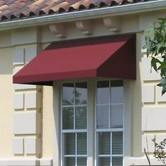 The Awntech Beauty-Mark New Yorker rigid valance awning is designed for use over a window or entryway. The fixed design boasts a structural aluminum frame and 100% solution dyed acrylic canopy that are tested to withstand wind and snow loads. Whether used at your residence or place of business, this attractive awning is sure to provide both shelter from the elements and energy cost savings.   Product Features:     For use over a window or entryway Heavy-duty commercial-grade patented design…