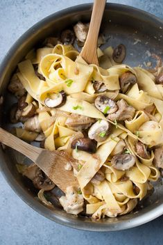Well, I've gone and done it. I've officially made my favorite pasta of all time! This Grilled Artichoke & Mushroom Lemon Pasta is so simple and perfectly delicious. It&#82…