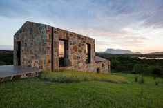 Image 1 of 57 from gallery of Stazzo d'Aldia House / Altromodoarchitetcts. Photograph by Simone Florena Cabin Design, House Design, Narrow House, Tiny House Cabin, Small Buildings, Stone Houses, Modern Architecture, Facade, Photos