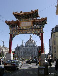 Chinatown & Central Station Antwerpen Belgium
