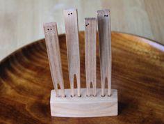 Wooden Fork Set, Dairoku   OEN