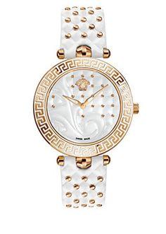 Versace - Vanitas Uhr Weiss
