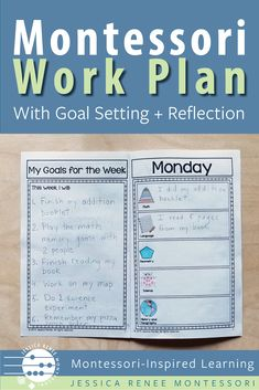 A Simple Montessori Work Plan for Elementary Students
