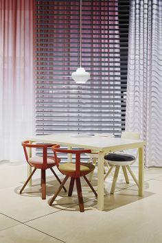 Konstantin Grcic's first design for Artek: the Rival chair. A great piece. www.artek.fi