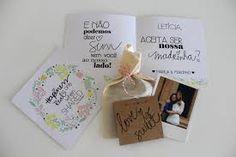 Convite para Madrinhas - Casamento Marília Boaretto