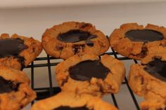 Peanut Butter Double Chocolate Cookies