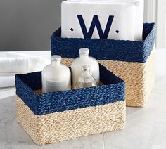 Libby Woven Basket, Set of 2