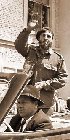 Fidel Castro - Cuba. Cuban Revolution